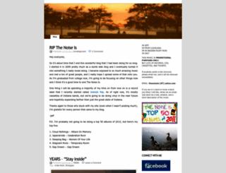 thenoiseis.wordpress.com screenshot