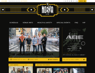thenorva.com screenshot