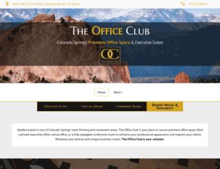 theofficeclub.com screenshot