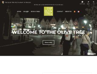 theolivetree-brugge.com screenshot