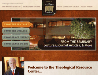 theologicalresources.org screenshot