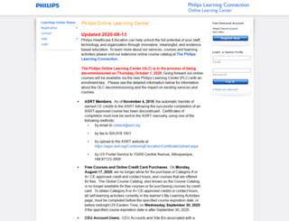 theonlinelearningcenter.com screenshot
