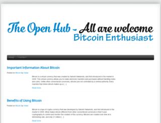 theopenhub.org screenshot