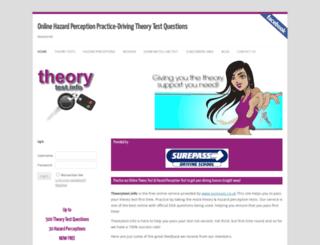 theorytest.info screenshot