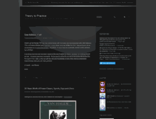 theorytopractice.wordpress.com screenshot