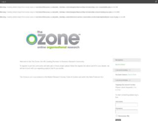 theozone.co.uk screenshot