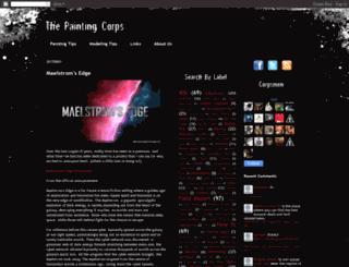 thepaintingcorps.blogspot.com screenshot