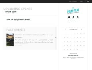 thepalmevent.ticketleap.com screenshot