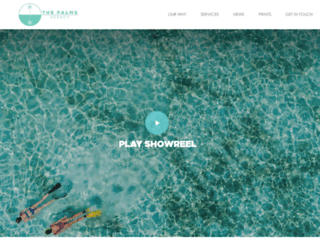 thepalms.agency screenshot