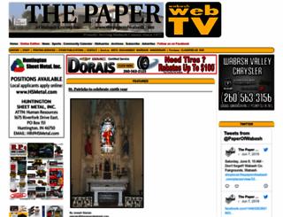 thepaperofwabash.com screenshot