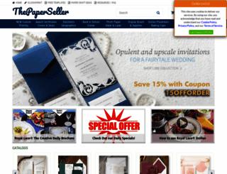 thepaperseller.com screenshot