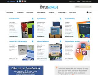 thepaperworker.com screenshot
