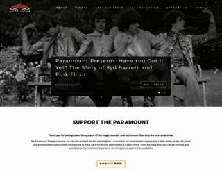 theparamount.net screenshot