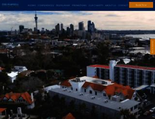 theparnell.co.nz screenshot