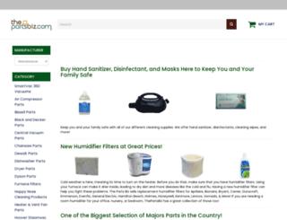 thepartsbiz.com screenshot