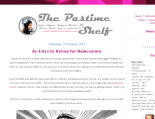 thepastimeshelf.com screenshot
