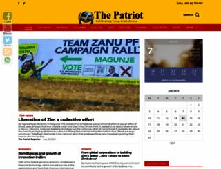 thepatriot.co.zw screenshot