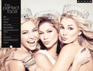 theperfectface.com screenshot
