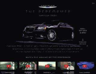 theperformer.me screenshot