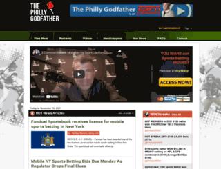 thephillygodfather.com screenshot