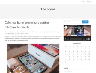 thephone.ro screenshot