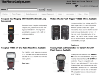 thephotogadget.com screenshot