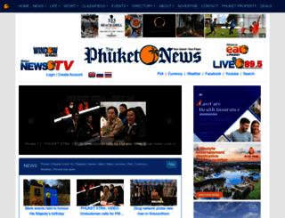 thephuketnews.com screenshot