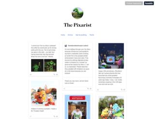 thepixarist.tumblr.com screenshot