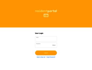 thepointeatcentral.residentportal.com screenshot