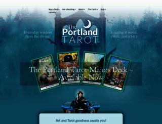 theportlandtarot.com screenshot