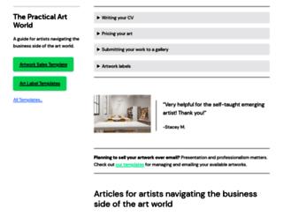thepracticalartworld.com screenshot