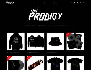 theprodigy.tmstor.es screenshot