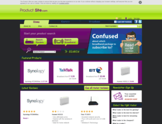 theproductsite.com screenshot
