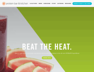 theproteinbar.com screenshot