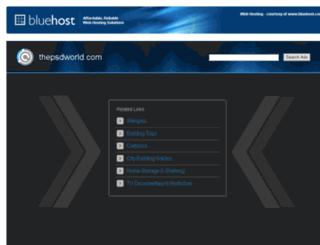 thepsdworld.com screenshot