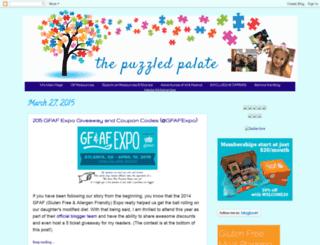 thepuzzledpalate.com screenshot