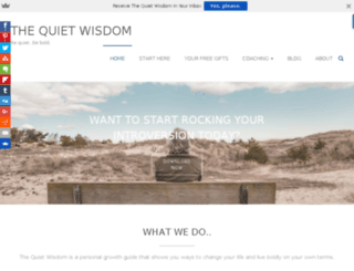 thequietwisdom.com screenshot