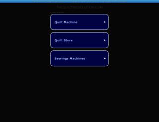 thequiltingsolution.com screenshot