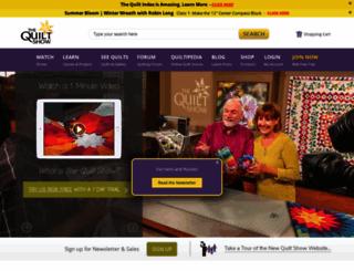 thequiltshow.com screenshot