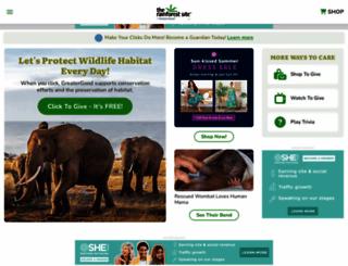 therainforestsite.com screenshot