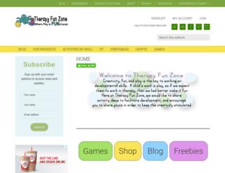 therapyfunzone.com screenshot