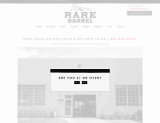 therarebarrel.com screenshot