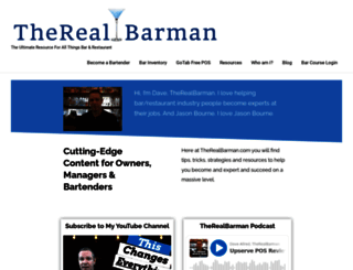 therealbarman.com screenshot