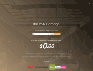 therealdamage.com screenshot