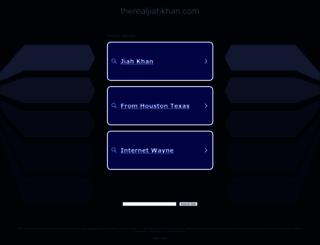therealjiahkhan.com screenshot