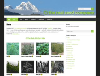 therealseedcompany.com screenshot