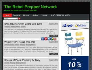 therebelpreppernetwork.com screenshot