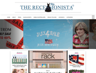 therecessionista.blogspot.com screenshot