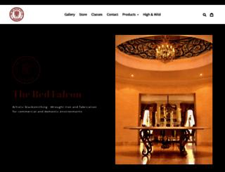 theredfalcon.com screenshot