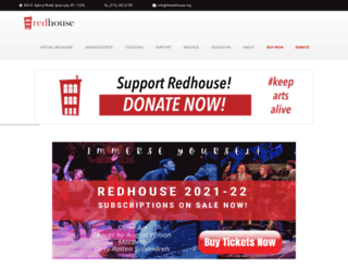 theredhouse.org screenshot